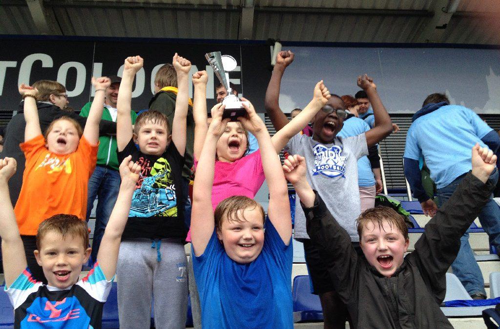 KIS-Finalturnier: Sportliche Erfolge trotz Regenwetters