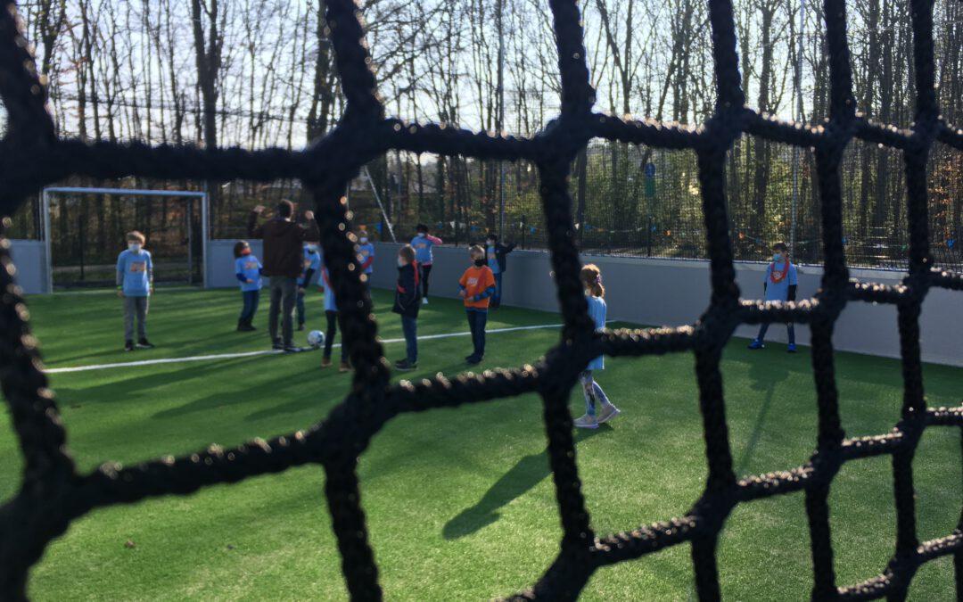Eröffnung des Soccer Courts in Meckenheim